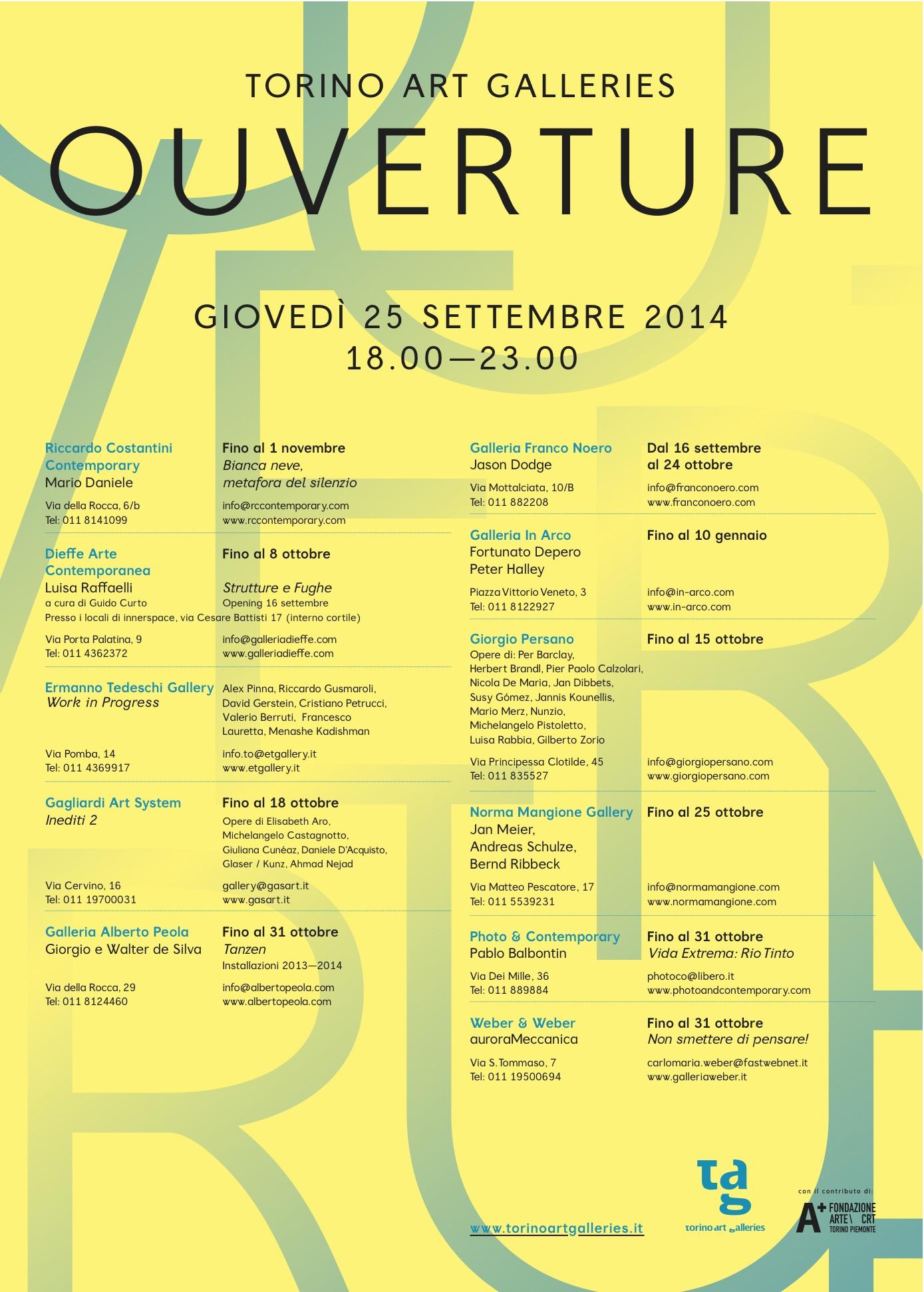 Ouverture 2014