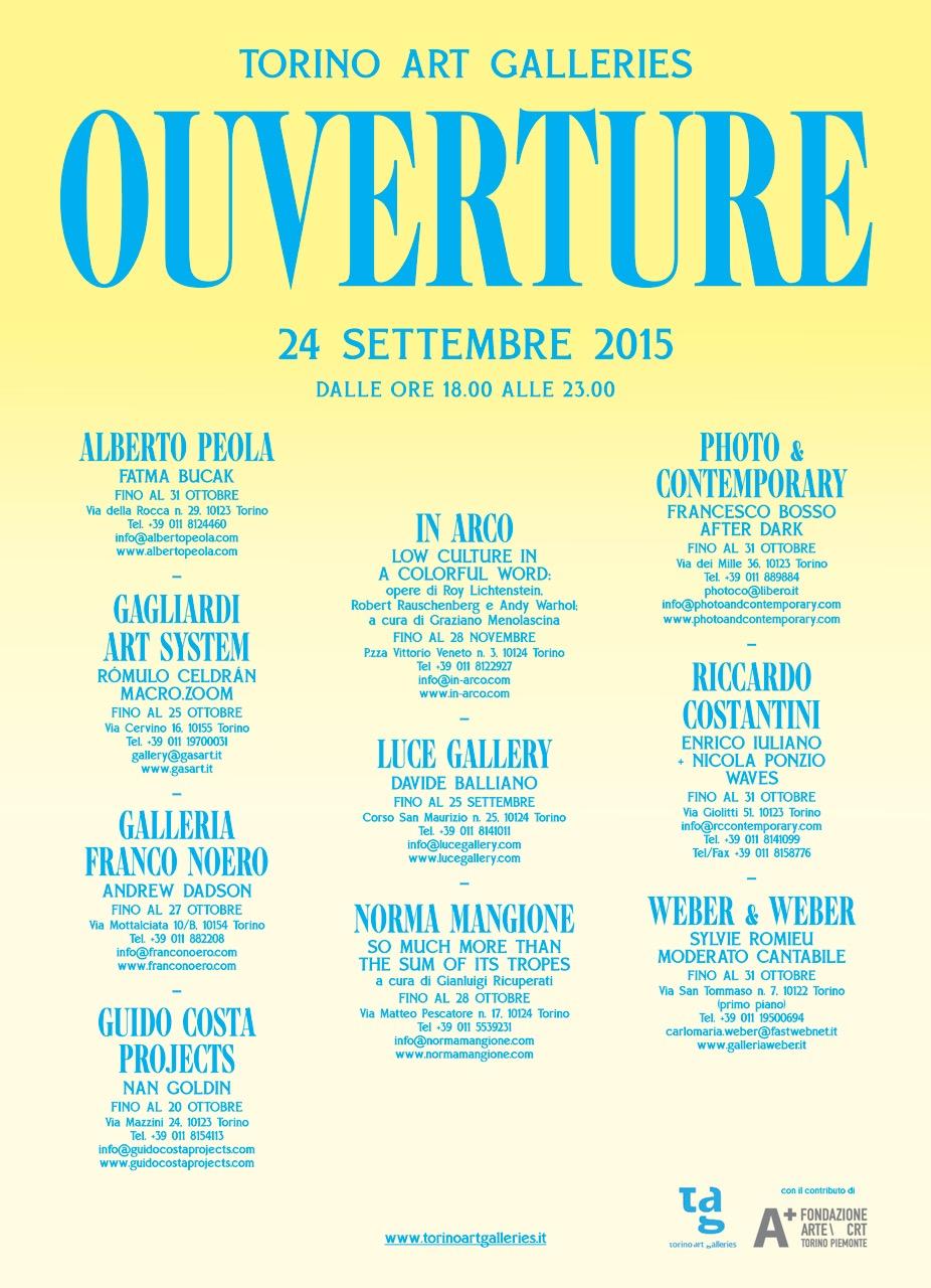 Ouverture 2015