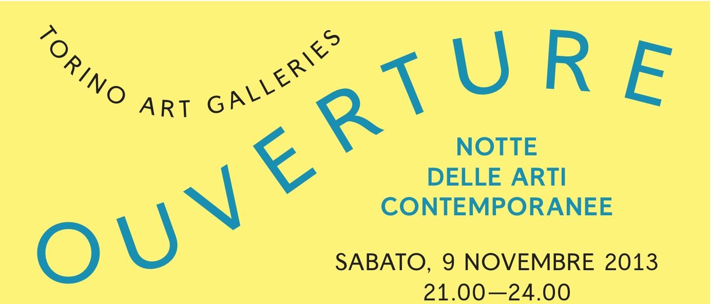 Notte delle Arti Contemporanee 2013