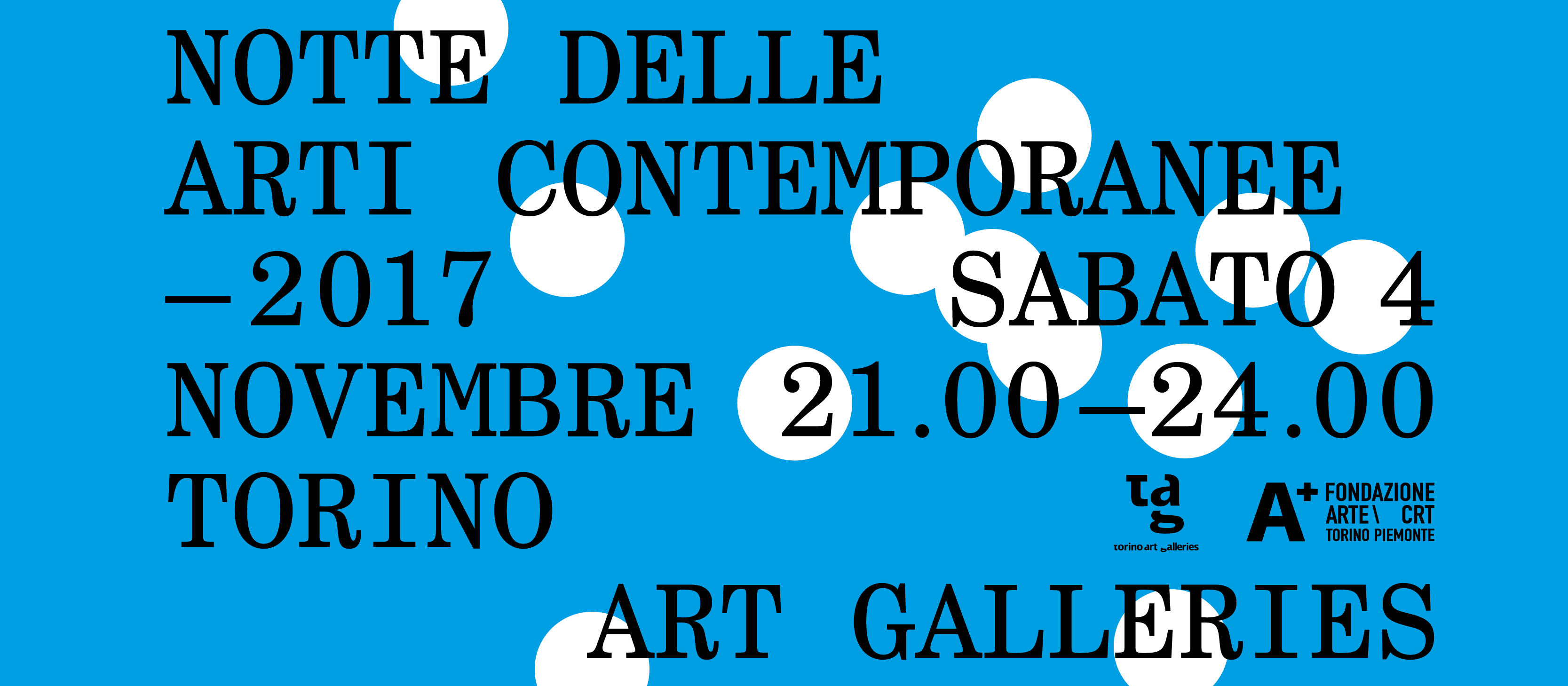 Notte delle Arti Contemporanee 2017